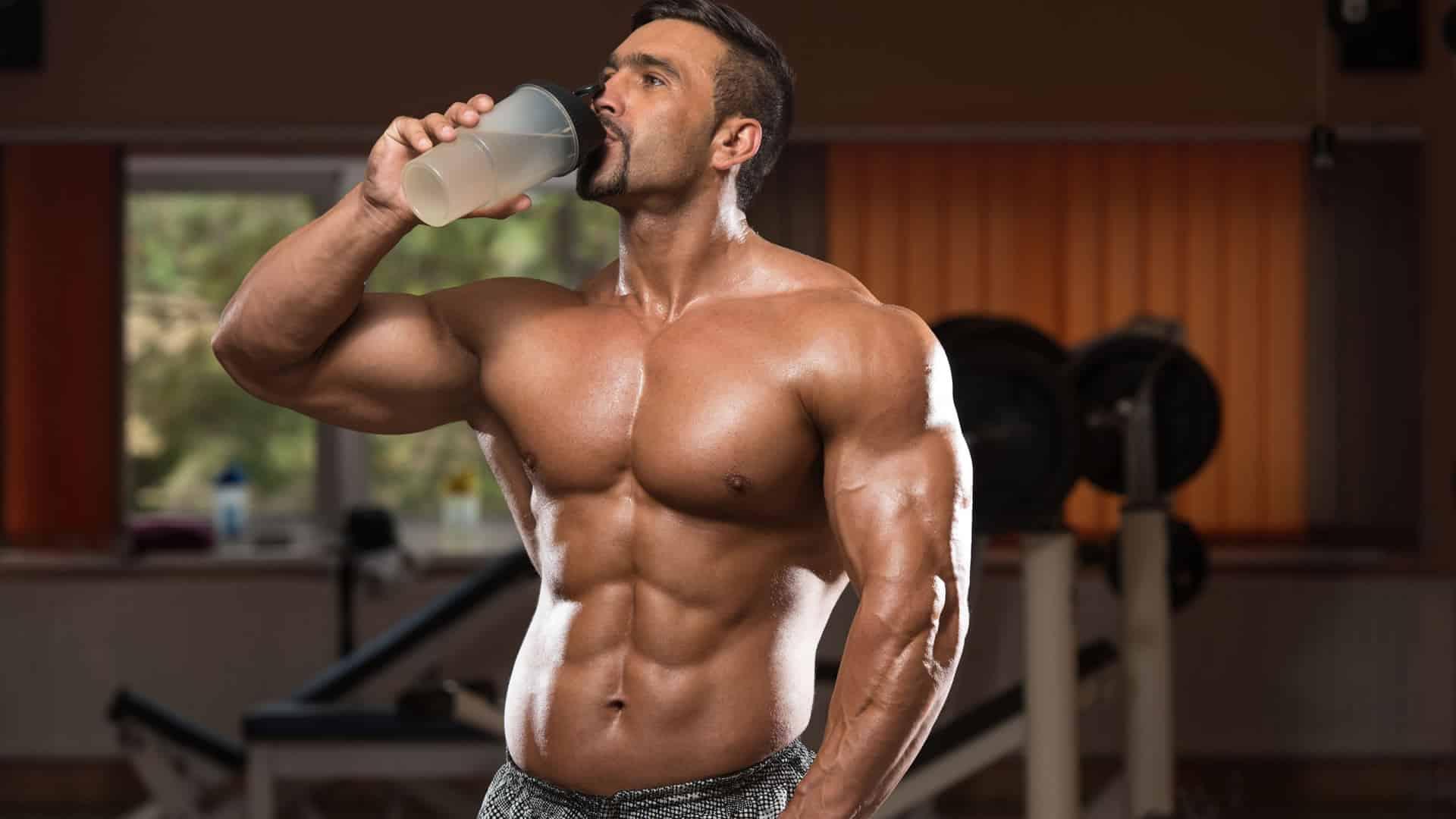 necesitas tomar tu batido apenas terminas de entrenar