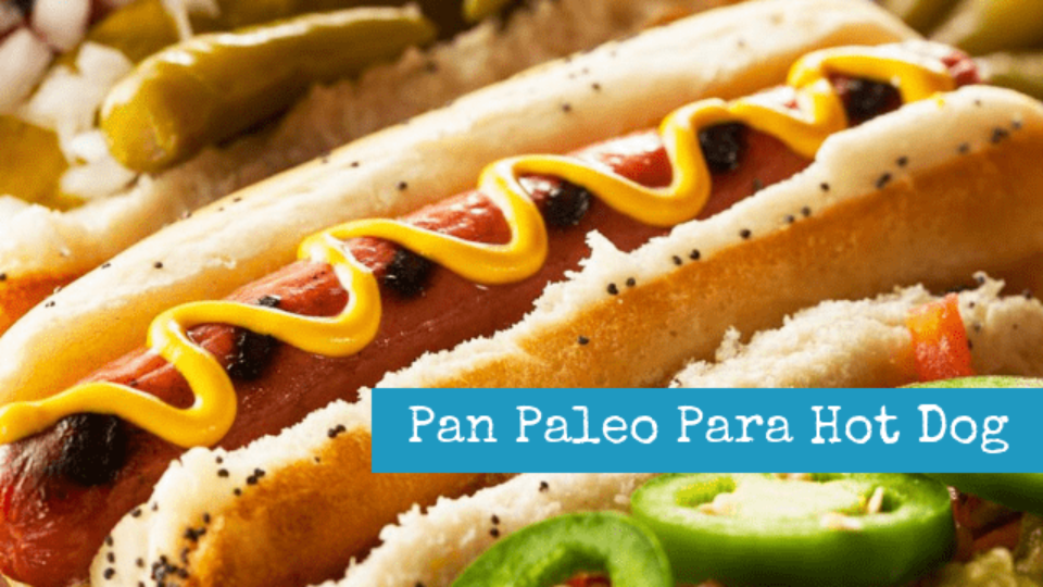 Pan Paleo Para Hot Dog
